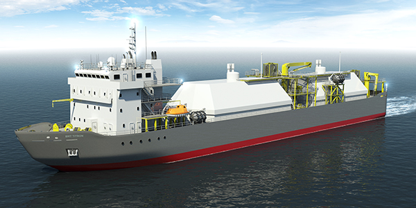 LNG Bunker Supply Vessel
