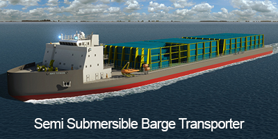 Semi Submersible Barge Transporter